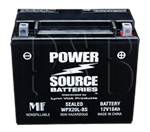 Power Source WPX20L-BS 12V, 18AH